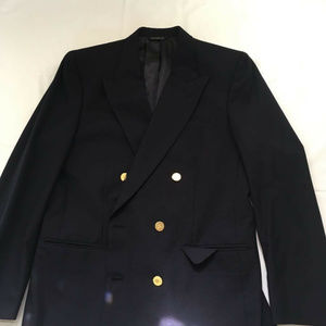 Burberry Mens Blazer Breasted Button Suit Size 42R